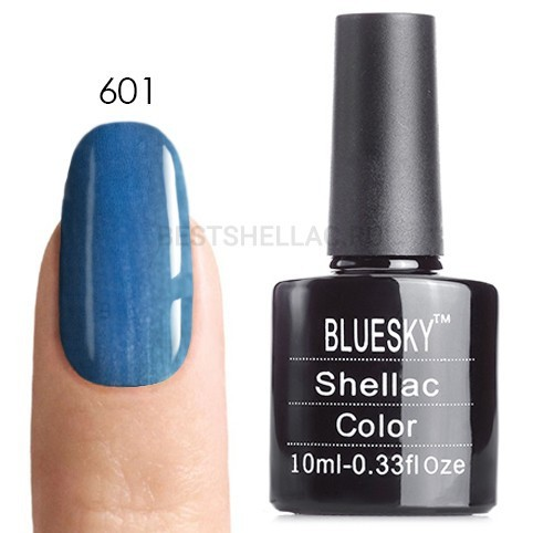 Bluesky Shellac 40501/80501 Гель-лак Bluesky № 40601/80601 Deep Sea, 10 мл 601.jpg