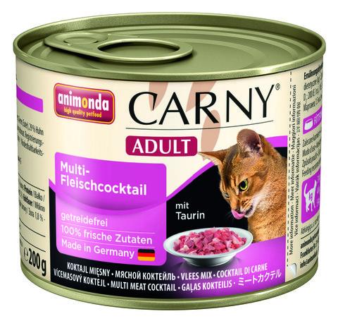 Консервы Animonda Carny Adult коктейль из разных сортов мяса для взрослых кошек