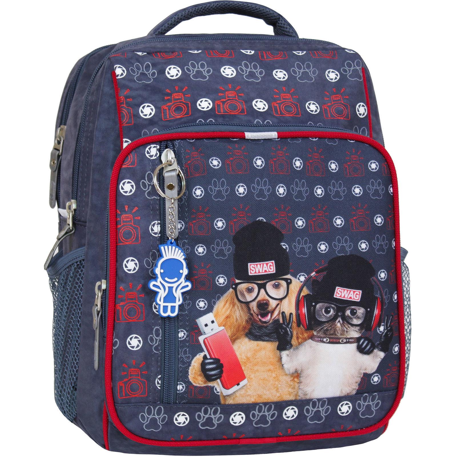 Школьные рюкзаки Рюкзак школьный Bagland Школьник 8 л. 321 серый 188к (00112702) IMG_4863-суб188к.jpg