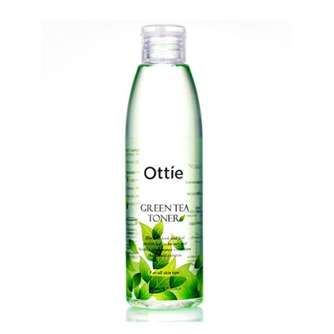 Ottie Green Tea Toner увлажняющий тонер с зеленым чаем