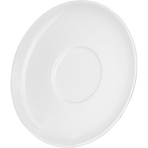 Блюдце Башкирский фарфор белое 145 мм (артикул производителя ИБЛ 03.145)