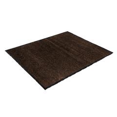 Коврик влаговпитывающий, ребристый, коричневый, 120*150 см