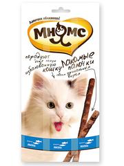 Лакомые палочки 13,5 см для кошек Мнямс с лососем и форелью