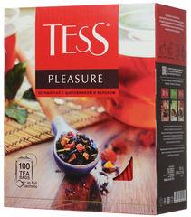 "Чай черный ""Tess"" Pleasure 100*1,5 г"