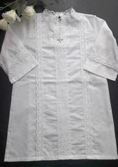 Крестильная рубашка детская 3 года