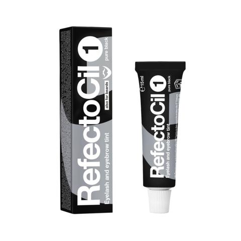 Краска для бровей и ресниц REFECTOCIL, #1 интенсивно-черная, 15мл