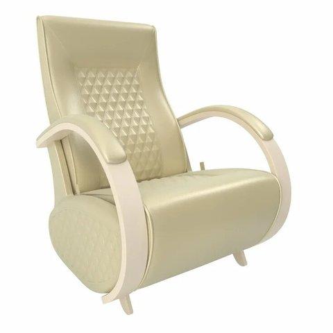 Кресло-глайдер Balance Balance-3 с накладками, дуб шампань/Oregon perlamutr 106, 014.003