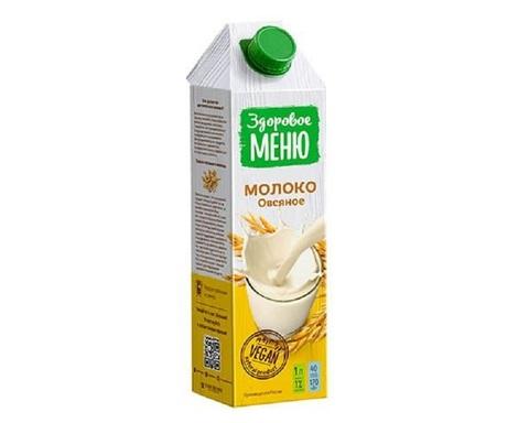 Молоко овсяное