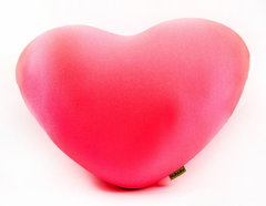 Подушка-игрушка антистресс Gekoko «Большое розовое сердце» 2