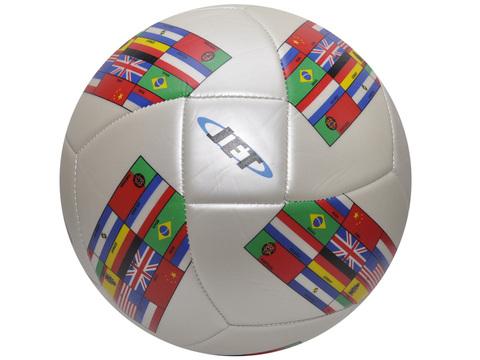 Мяч футбольный игровой для отдыха. Р-р 5. М-л: ПВХ, резина, машин. сшивка) (FT9-8)