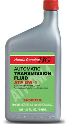 HONDA ATF DW-1 Жидкость трансмиссионная АКПП (пластик/США)