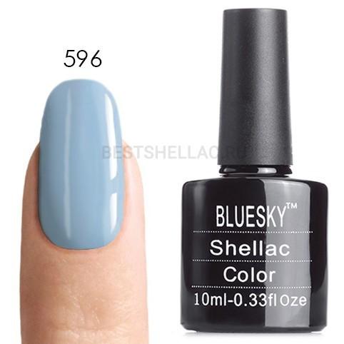 Bluesky Shellac 40501/80501 Гель-лак Bluesky № 40596/80596 Greekside, 10 мл 596.jpg