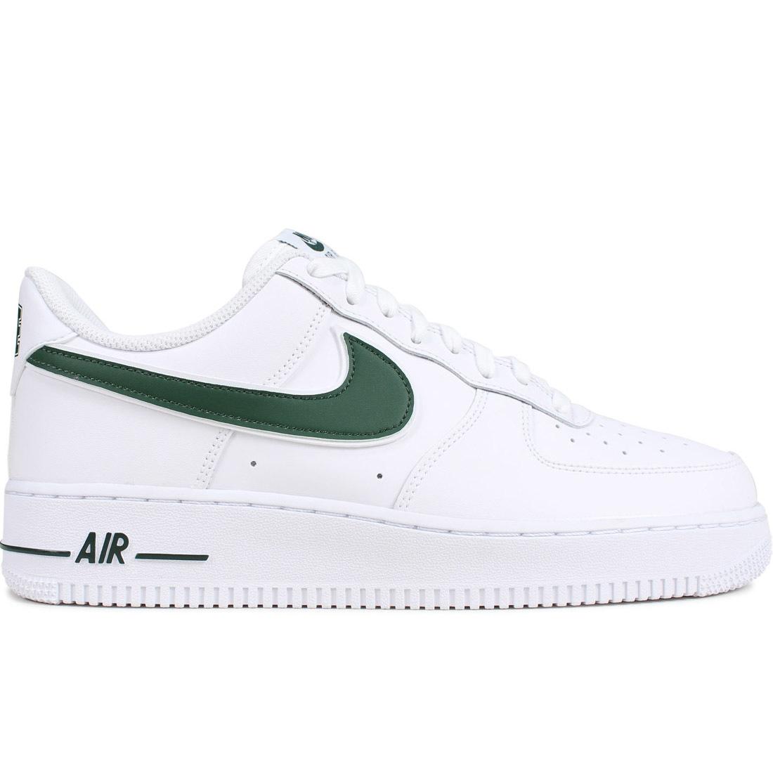 Nike Air Force 1 07 White Green Swoosh