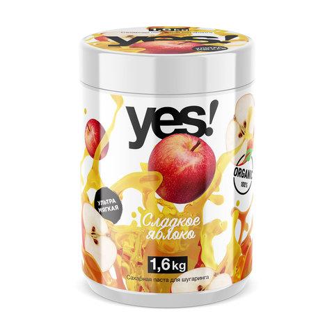YES Сахарная паста УЛЬТРА-МЯГКАЯ (сладкое яблоко) 1,6 кг
