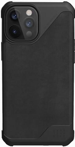 Чехол Uag Metropolis LT кожа для iPhone 12 Pro Max 6.7