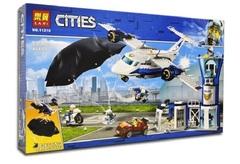 Сити  11210 Воздушная полиция: авиабаза,559 дет Конструктор