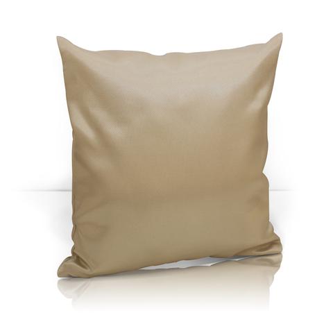 Подушка декоративная жаккард Элегия светло-коричневый