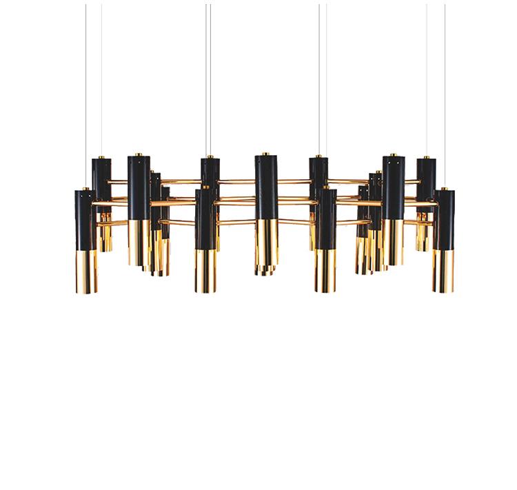 Подвесной светильник копия Ike by Delightfull (17 плафонов)