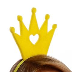 Карнавальный Ободок«Корона» поролон