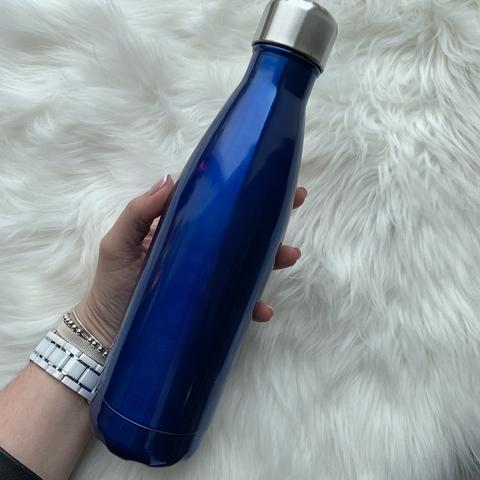 Бутылка для воды 500 мл /синий/