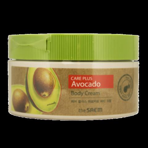 The Saem Питательный крем для тела с авокадо Care Plus Avocado Body Cream 300 мл