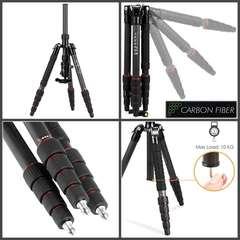 FOTOPRO Tripod X-go E+42Q-MH3 профессиональный карбоновый