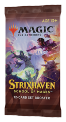 Set Booster выпуска «Strixhaven: School of Mages» (на английском)