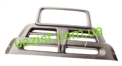 Облицовка радиатора (решетка) Уаз 452, 3303 пластиковая (Прима)
