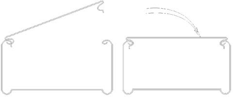 Крышка лотка «Быстрый монтаж» длина 3 метра