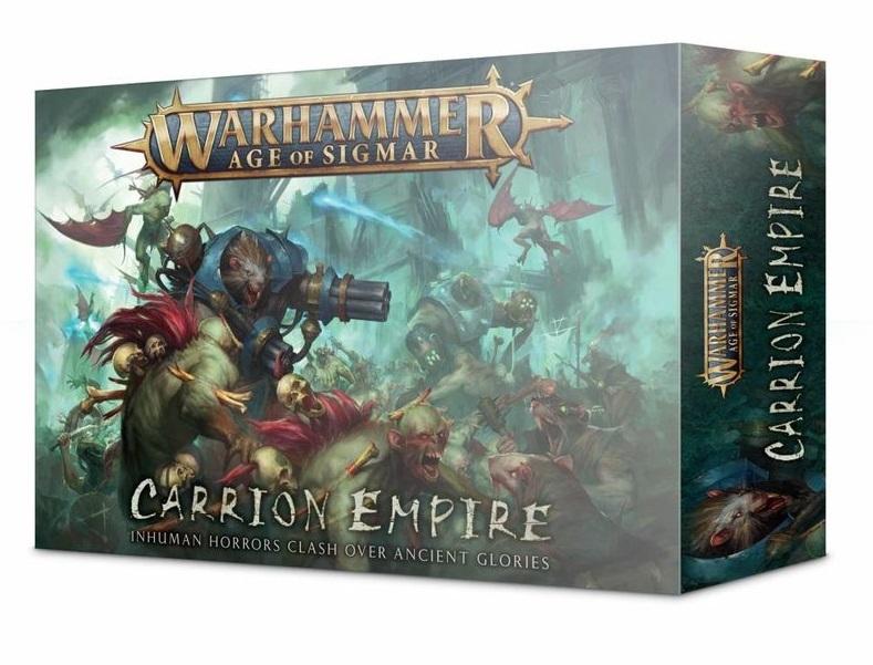 Age of Sigmar: Carrion Empire. Коробка
