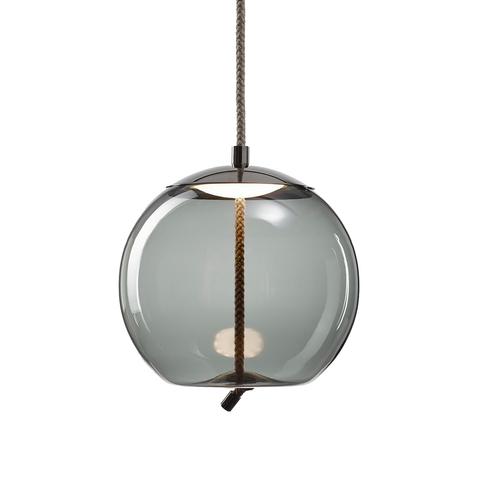 Подвесной светильник копия Knot Sfera by Brokis (дымчатый)