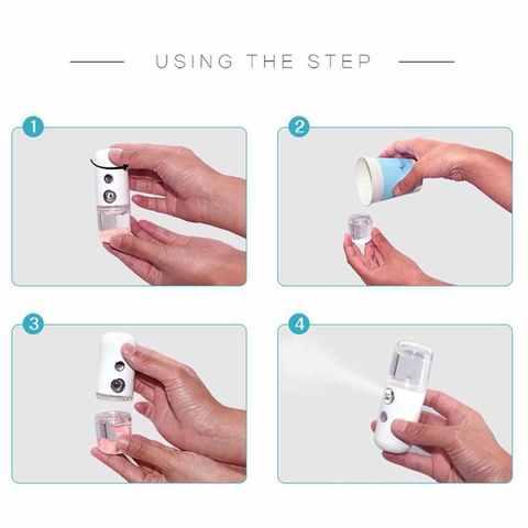Увлажнитель для лица и тела Nano Mist Sprayer