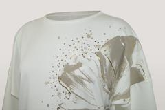 Блузка Milena 7424 цветок 3/4 (В21)