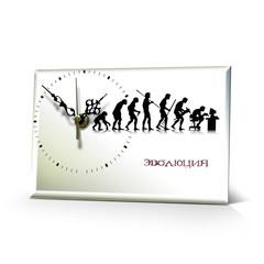 Настольные часы Эволюция