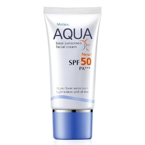 Ухаживающий крем для лица AQUA Mistine SPF 50, 20 мл