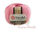 Пряжа YarnArt Jeans 36 розовый