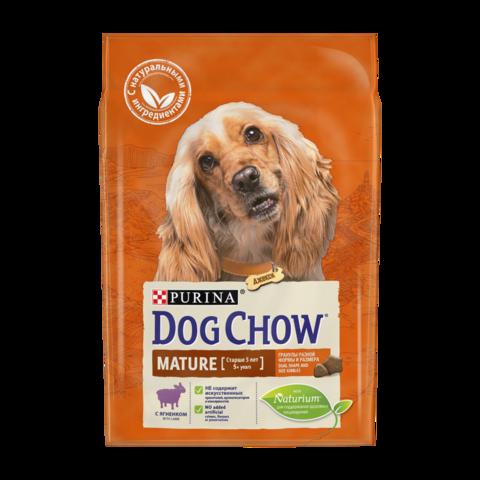 Dog Chow Mature Сухой корм для собак старше 5 лет с Ягненком