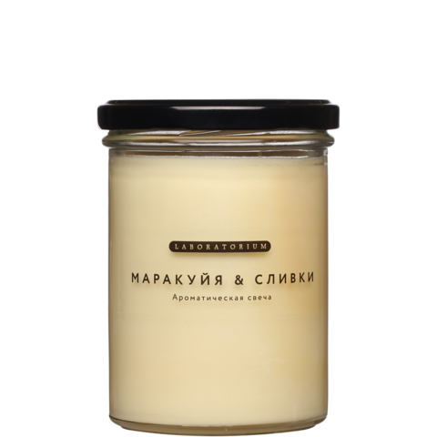 Ароматическая свеча Маракуйя сливки 280 мл, Лабораториум
