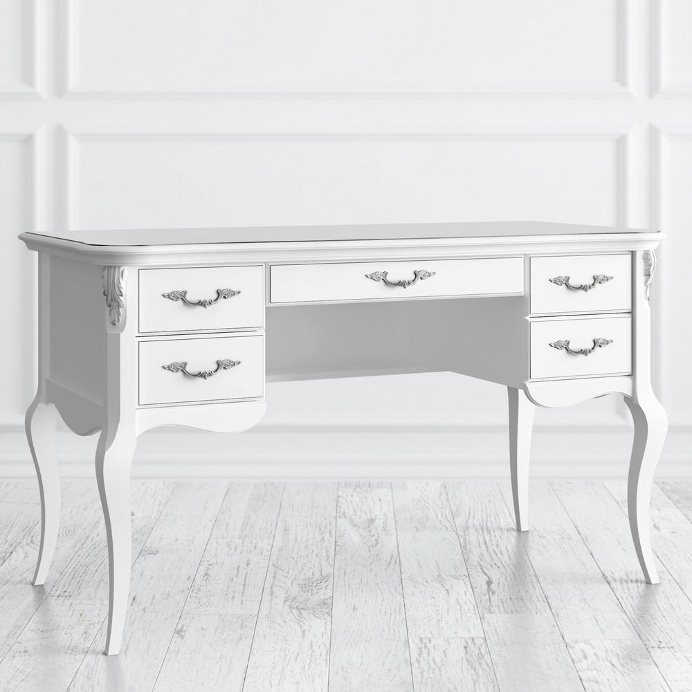 Кабинетный стол пристенный