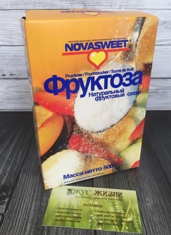 Фруктоза Новасвит 500г Короб