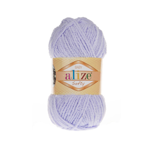 Пряжа Alize Softy светлая сирень 146