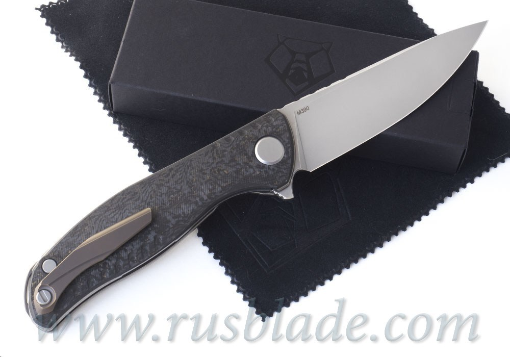 Shirogorov F3 NS M390 Bronze Carbon Fiber - фотография
