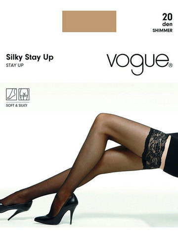 Чулки Silky Stay Up 20 Vogue