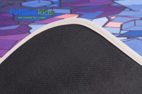 Плюшевый коврик 140х200 см (Cube)