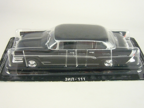 ZIL-111 black 1:43 DeAgostini Auto Legends USSR #49