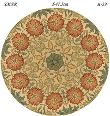 Эскиз для росписи, Круг диаметр-47,5см, SMAR-st-39