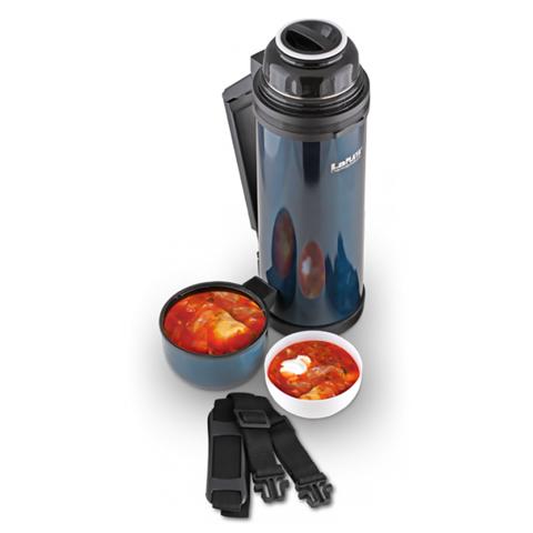 Термос универсальный (для еды и напитков) LaPlaya Traditional (1,2 литра), синий