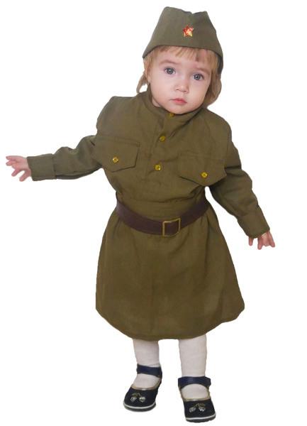 Военная форма Солдатка малютка