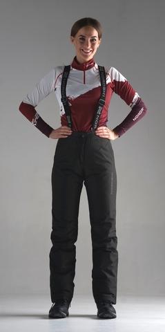 Утепленные брюки Nordski Mount Black W женские