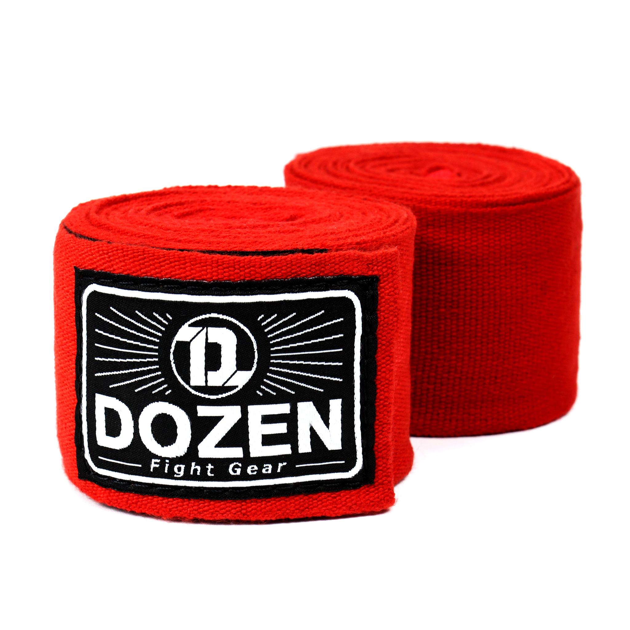 Бинты красные Dozen Monochrome Ultra-elastic главный вид